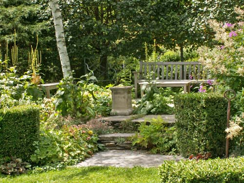 Image Result For Stone Garden Bench